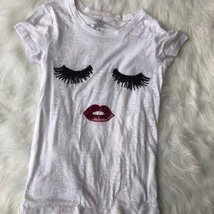 White posh shirt